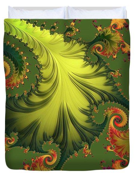 Rain Forest Duvet Cover by Susan Maxwell Schmidt