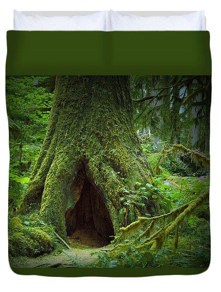 Rain Forest Walk 2 Duvet Cover
