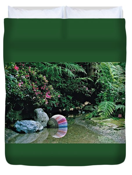 Rainbow 2 Duvet Cover by Delores Malcomson