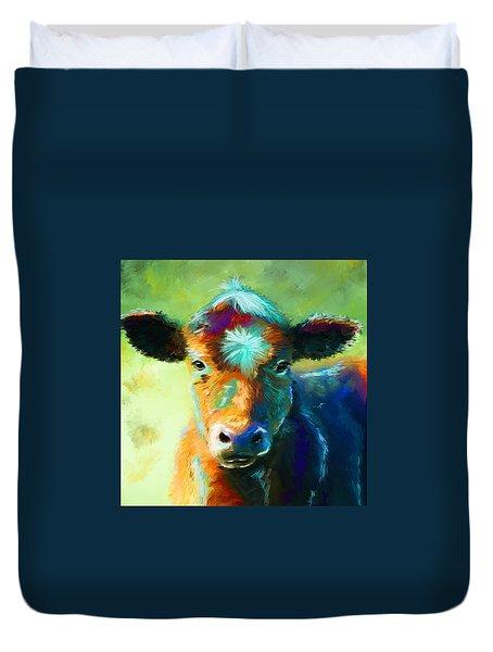 Rainbow Calf Duvet Cover