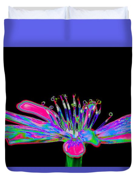 Rainbow Chicory Duvet Cover by Richard Patmore