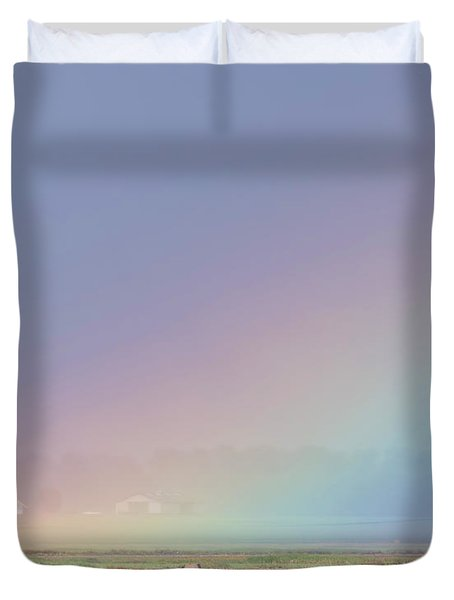 Rainbow Close Up Duvet Cover