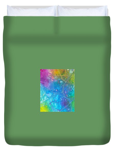 Rainbow Duvet Cover by Artists With Autism Inc