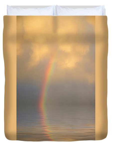Rainbow Dream Duvet Cover by Jerry McElroy