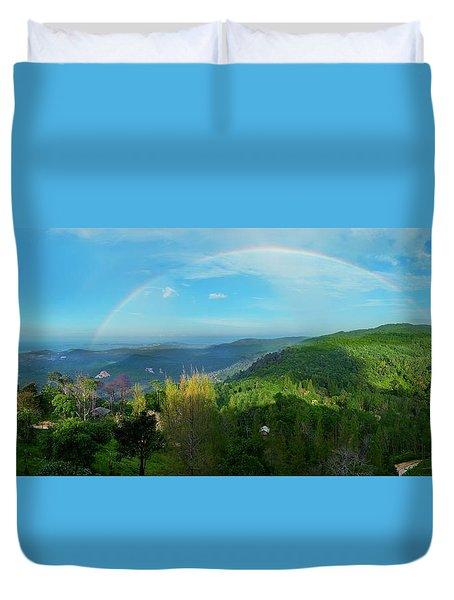 Rainbow Dream Duvet Cover