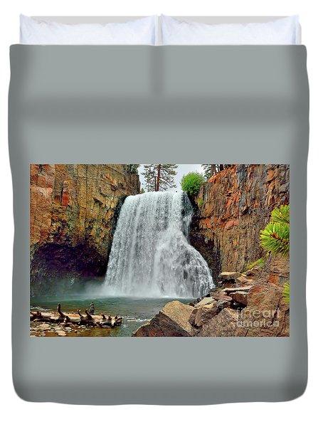 Rainbow Falls 10 Duvet Cover