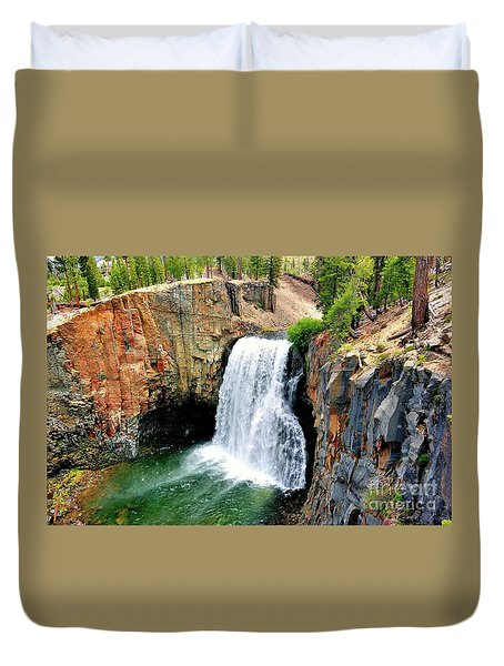 Rainbow Falls 11 Duvet Cover