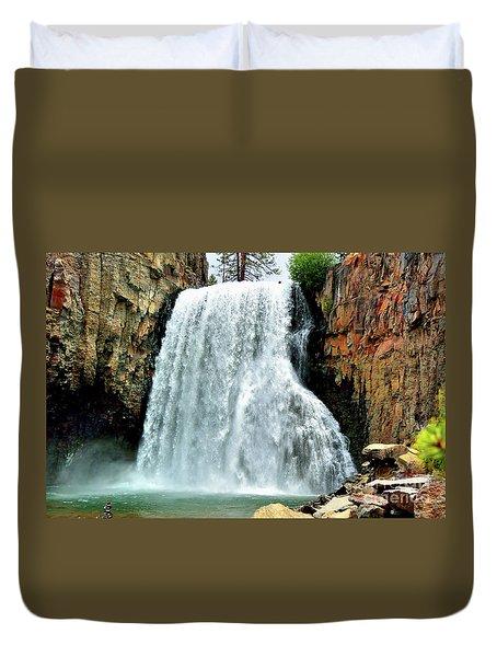 Rainbow Falls 16 Duvet Cover