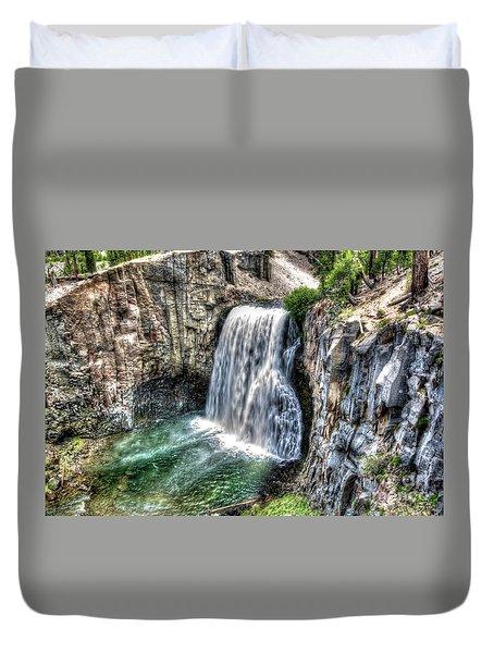 Rainbow Falls 5 Duvet Cover