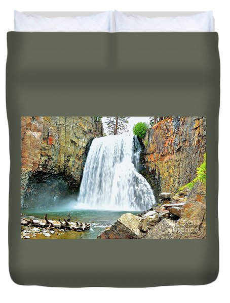 Rainbow Falls 6 Duvet Cover