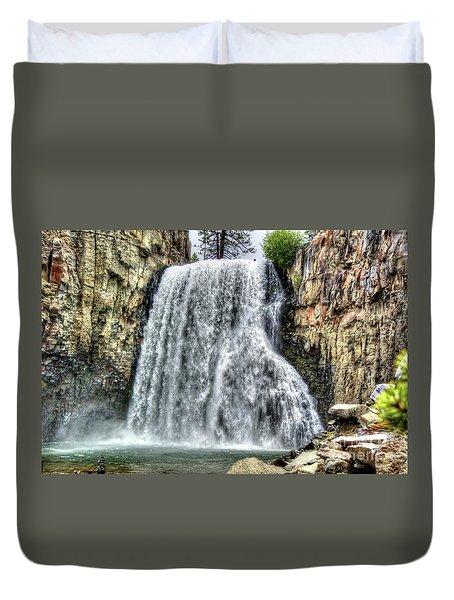 Rainbow Falls 7 Duvet Cover