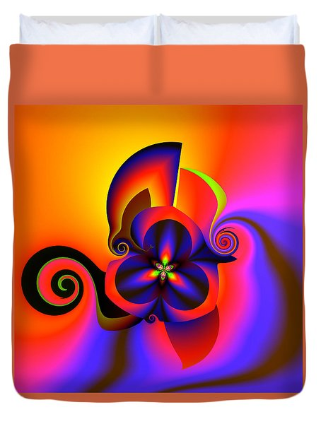 Rainbow Infusion Duvet Cover