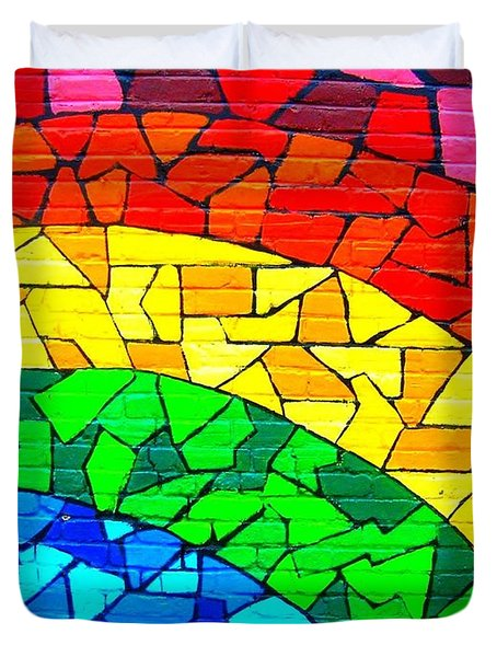 Rainbow ... Duvet Cover