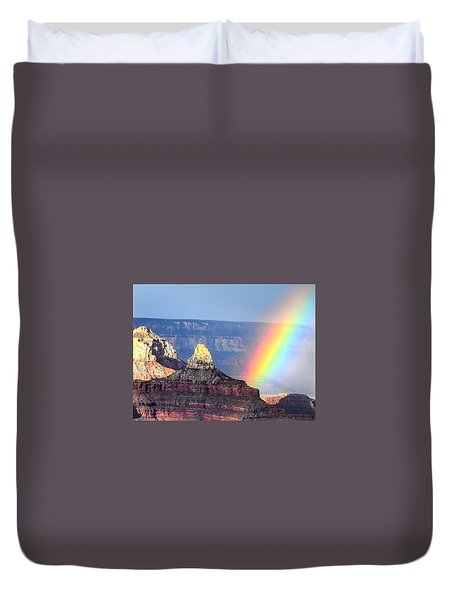 Rainbow Kisses The Grand Canyon Duvet Cover