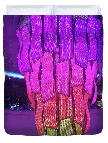 Rainbow Light Duvet Cover