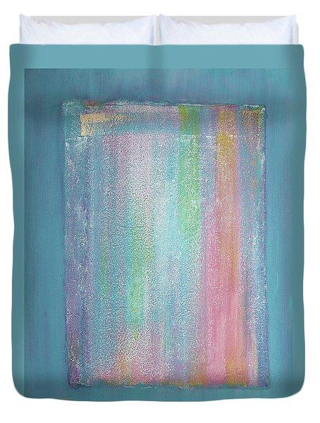 Rainbow Shower Of Light Duvet Cover