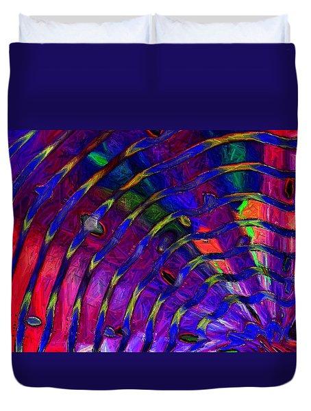 Rainbow Mosaic Duvet Cover