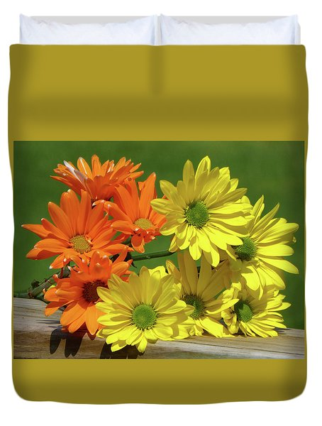 Rainbow Mums 4 Of 5 Duvet Cover
