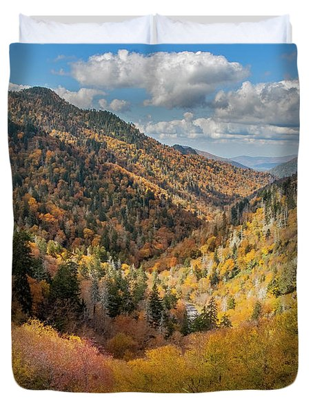 Rainbow Of Colors Duvet Cover