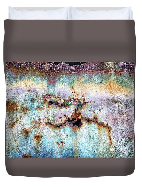 Rainbow Rust Duvet Cover