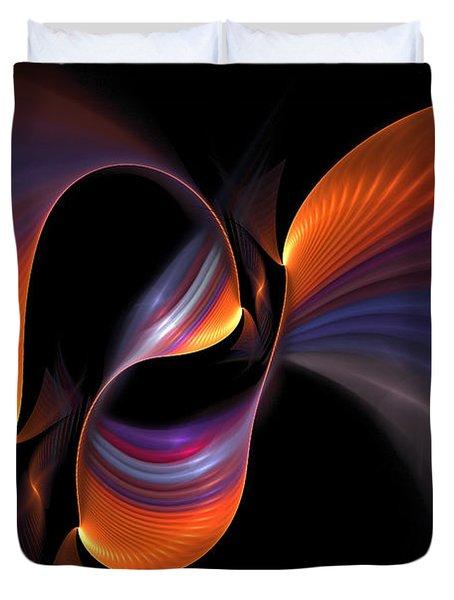 Rainbow Tango Duvet Cover