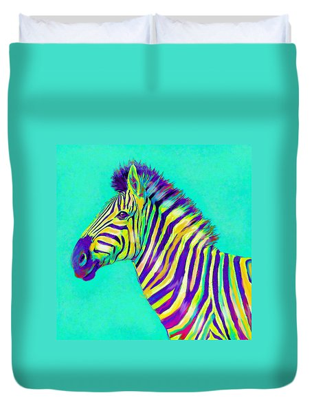Rainbow Zebra 2013 Duvet Cover