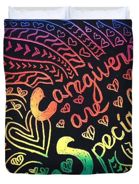 Rainbows Duvet Cover