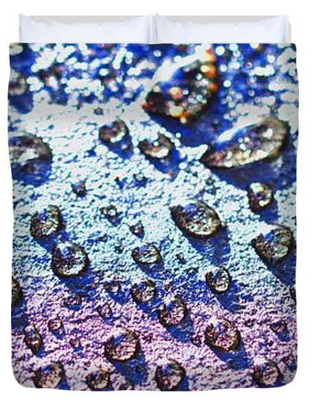 Raindrop Shingle Duvet Cover