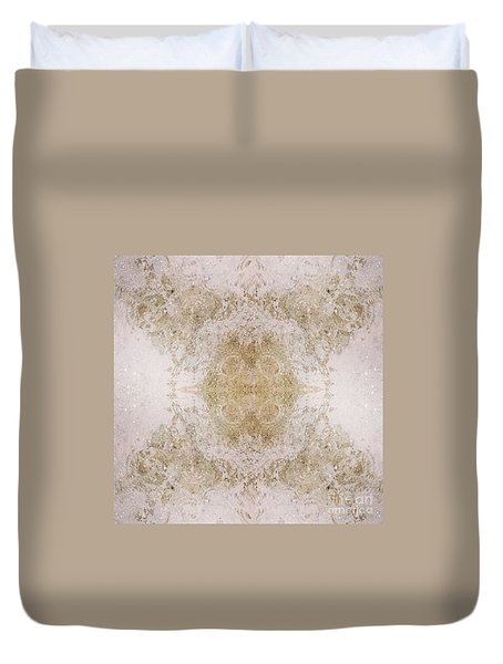 Duvet Cover featuring the photograph Rainfall  by Nora Boghossian