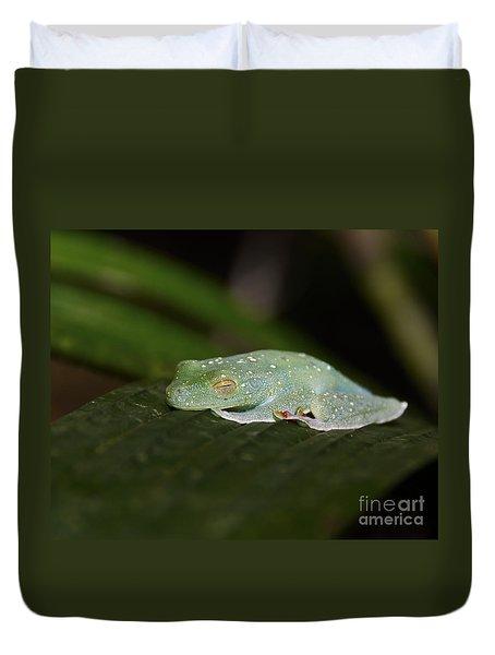 Rainforest Detail.. Duvet Cover by Nina Stavlund