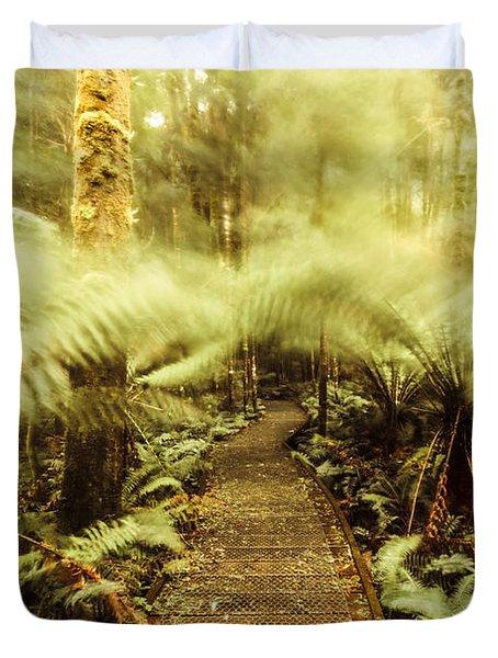Rainforest Walk Duvet Cover