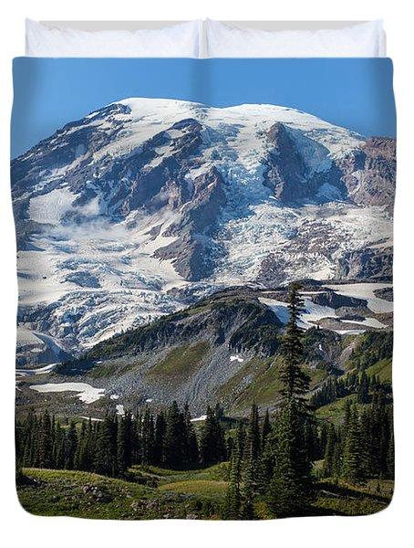 Rainier Mazama Ridge Duvet Cover