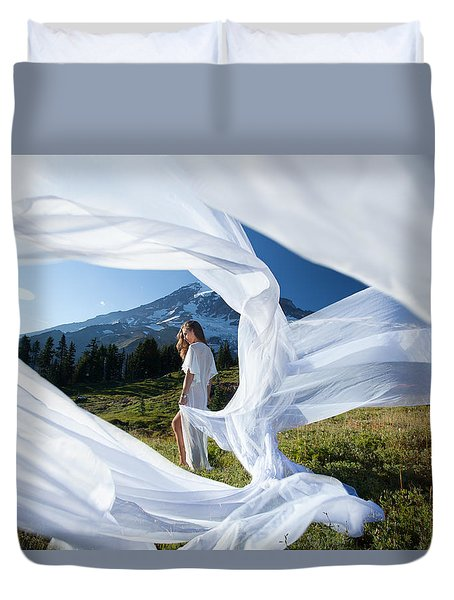 Rainier Ribbons Duvet Cover