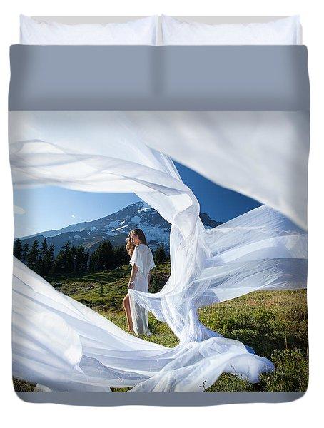 Rainier Ribbons Duvet Cover