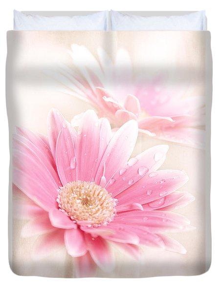 Raining Petals Duvet Cover