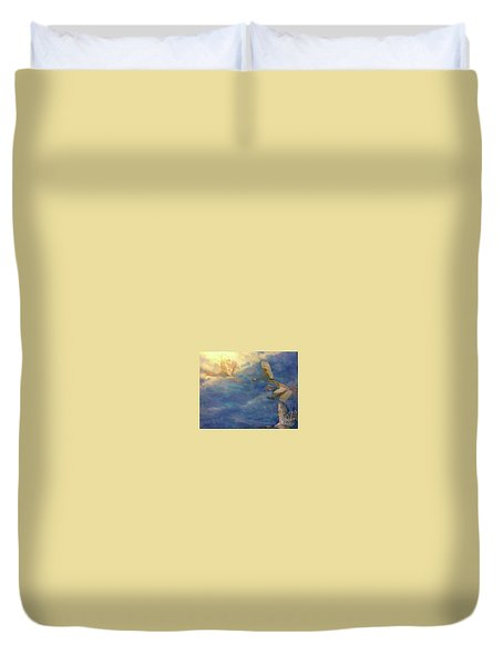 Raining Tears Duvet Cover