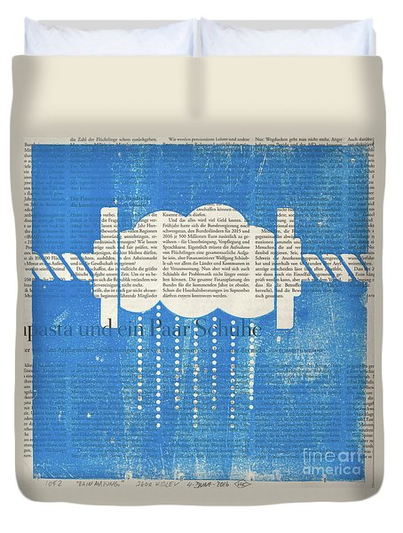 Rainmaker Duvet Cover