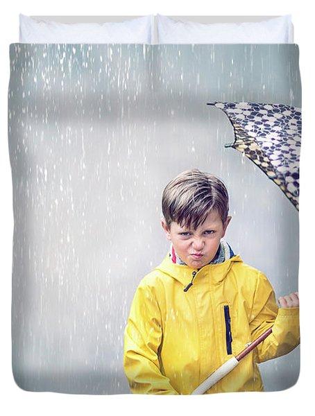 Rainman Duvet Cover