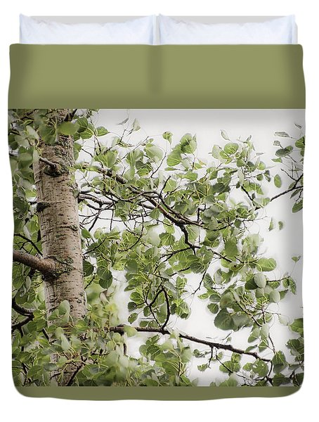 Rainy Day Birch -  Duvet Cover