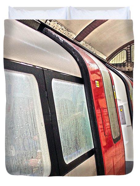 Rainy London Day Duvet Cover