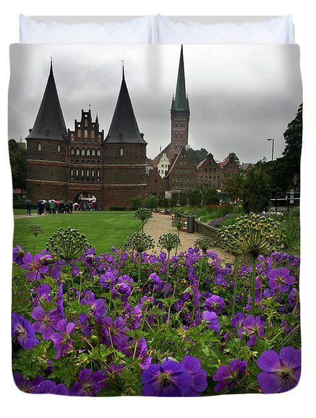 Rainy Luebeck Is Beautiful Duvet Cover