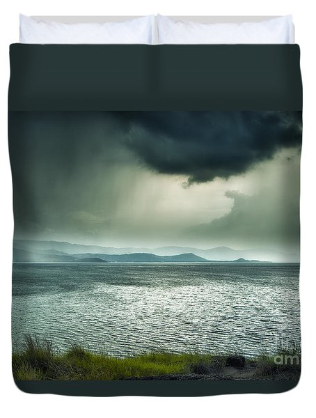 Rainy Mood Duvet Cover