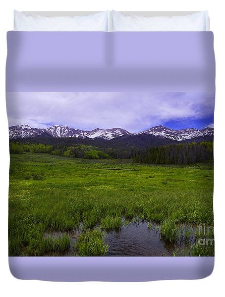 Rainy Season Duvet Cover