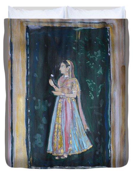 Raj Kumari Duvet Cover