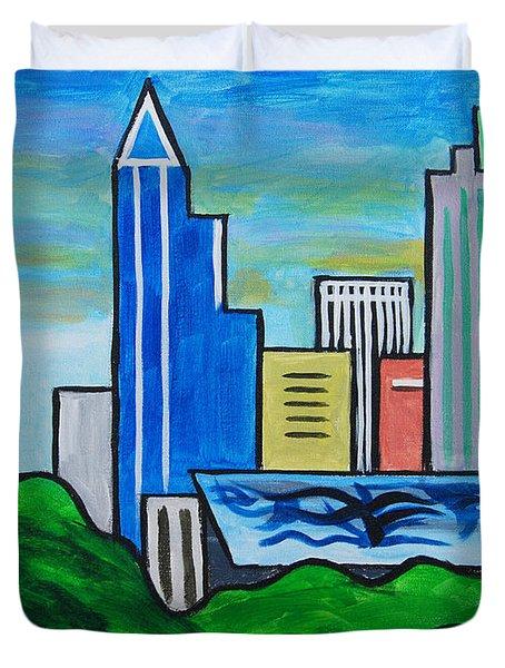Raleigh Skyline 3 Duvet Cover
