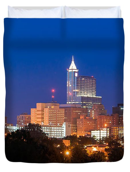 Raleigh Skyline Duvet Cover
