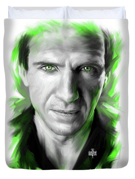 Ralph Fiennes As Lord Voldemort Duvet Cover