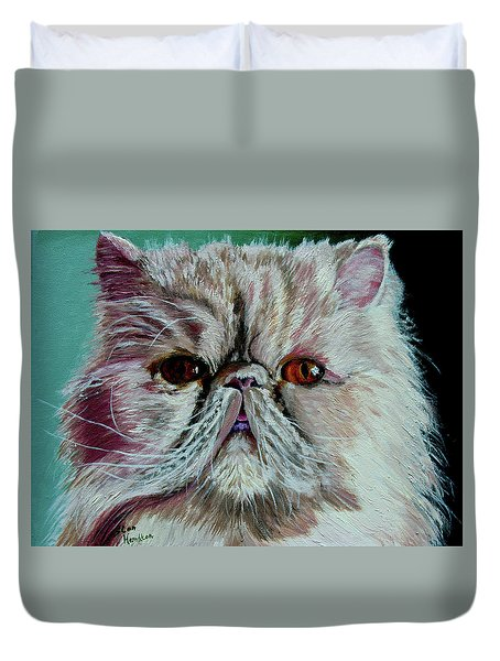 Ralph Duvet Cover by Stan Hamilton