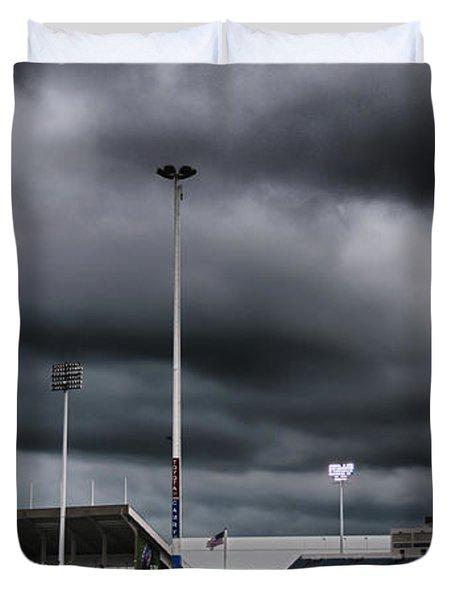 Ralph Wilson Stadium 5803 Duvet Cover