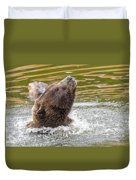 Rambo Bear Duvet Cover